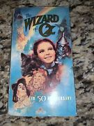 Vintage Collector's Item - 1989 The Wizard Of Oz 50th Anniversary Vhs