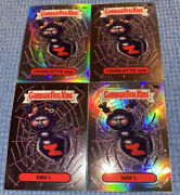 2020 Topps Chrome Series 3 Garbage Pail Kids Silver Refractor Lot 98a And 98b X4