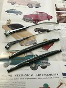 Chevrolet Car And Truck Wiper Set  Blades And Arms  Stainless Steel 4 Pc