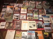 Vintage Lot Of 950 Plus The Model Railroader Train Magazines And Much More