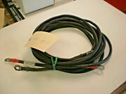 11 Ft Long 4 Gauge Marine Battery Cables With Terminal Red And Black Eyelets