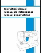 Brother Xl-5130 Xl-5232 Xl-5340 Sewing Machine Owners Instruction Manual Reprint