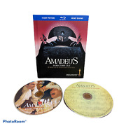 Amadeus Directors Cut Blu-ray Rare 2009 2-disc Set With Book And Cd