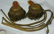 Wwi Rare Officer Epaulets Aiguillette Imperial Russia 31st Infantry Division