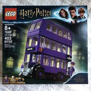 New Lego Harry Potter And The Prisoner Of Azkaban Knight Bus 75957 403 Pieces