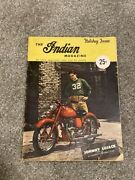 1948 The Indian Motorcycle Magazine Literature Brochure look
