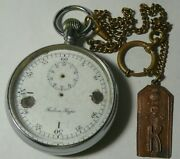 Wwi Signed Stopwatch Artillery Officer Imperial Russia Army Pavel Bure 1919