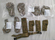 Lot Usmc Molle Pouch Coyote Brown Genuine U.s. Military Issue