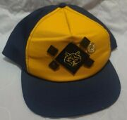 Vintage Cub Scout Hat With Pins