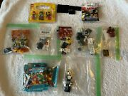 18 Lego Minifigures Lot From Series 4 5 6 7 10 11 13 + 852766 And 71019 Sealed