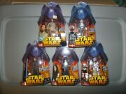 Star Wars Revenge Of The Sith Set Of 5 Figures New