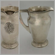 Baltimore Schofield Tudor Corinthian Sterling Silver Hammered Water Pitcher