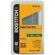 15ga 1 5 Stnless Steel Finish Nail 1m Pt No Fn1524-1mss By Stanley Bostitch