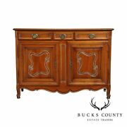 Grl Selection Meubles French County Style Cherry Server Cabinet