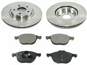 Durago 32bt57r Front Brake Pad And Rotor Kit Fits 2007-2013 Volvo C30