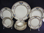 Rosenthal Germany Rare Antique Ivory Daphne Estate Dinner Set