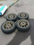 Rare Volk Racing Rays Ce28n 17x7.5 Et50 5x100 Without Tires
