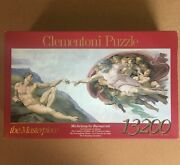 Clementoni 13200 The Creation Of Adam By Michelangelo Jigsaw Puzzle Rare New