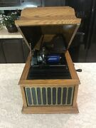 Stunning 1913 Thomas Edison Amberola 30 Wind Up Cylinder Phonograph-sold As Is