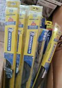 Lot Of 25 Only 6 Each Assorted Michelin Windshield Wiper Blades Free Shipping