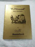 Authentic M.j. Hummel Figurines By W. Goebel Collector Book/reference Guide