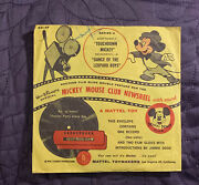 Walt Disneyand039s Mickey Mouse Club Newsreel Series A With Envelope 1950and039s