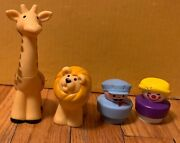 Vintage 1991 Fisher Price Little People Circus Train- Animal And People Lot Only