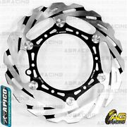 Apico Front Oversize Brake Disc Rotor 270mm With Adapter For Honda Crf 450x 2018