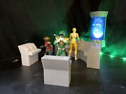 Power Rangers Command Center Terminals Raw 3d Print Lightning Collection Scale