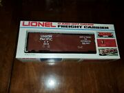 Lionel 6-9419 0 027 Gauge Up Union Pacific Freight Carrier Reefer Boxcar Red