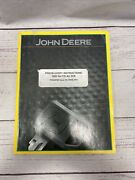 John Deere Predelivery Instructions 1890 No-till Air Drill