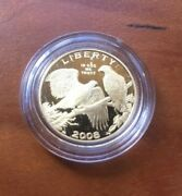 2008-w 5 Bald Eagle Commemorative Gold Coin-proof - Sealed In Capsule