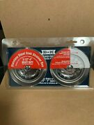 Stainless Steel Duel Heavy Duty Sink Strainers 3- 1/2 - 4 New 131-201dp