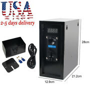110v Coin Operated Timer Control Box Electronic Device Coin Selector Acceptor Us
