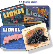 Lionel 675, 675f, 2025, 2035 K-4 Pacific Steamer Mouse Pads