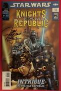 Star Wars Knights Of The Old Republic 0 - Signed Comic Book - Dark Horse