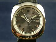Jaquet Girard Airvac 6000 Automatic Watch 1970s Cal Tissot 784-2 Nos Vintage