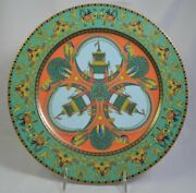 Versace By Rosenthal Studio-linie Le Voyage De Marco Polo Charger /service Plate