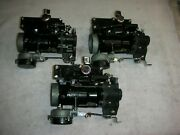Corvair 65-66 Turbo Carbs Fully Rebuilt New Shafts All Plugs Out Fresh Chrome