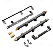 Greddy High Flow Fuel Rail Set Right And Left Banks 14mm Main Tube Fits 09+ Nissan