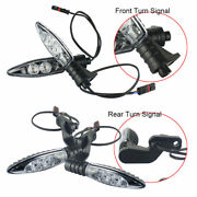 4x Motorcycle Abs Turn Signal Amber Lamp Indicator For Bmw F700/650gs K1300gt