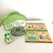 Leap Frog Tag Junior Bundle W/4 Books, Case, Pen And Leapster Handheld System
