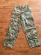 Muticam Army Issue Pants Flame Resistant Insect Shield Small Short