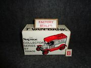 Texaco 1913 Ford Model T Delivery Truck Diecast - 1 In Series Factory Sealed