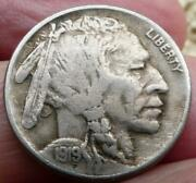 Reduced Again Better Date 1919-s Buffalo Nickel Ab. Xf