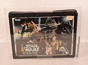 Star Wars A New Hope Vinyl Carrying Case Kenner 1978 New Afa 80