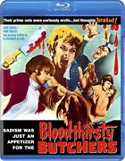 🔥 Bloodthirsty Butchers Blu-ray 1970 Andy Milligan Code Red Rare Oop