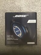 Bose Qc15 Headphones - Blue Limited Edition-brand New Unopened Box