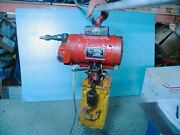 Hd Air Hoist Chicago Pneumatic Cp1100 Variable Speed 550lb Capacity15and039 Chain