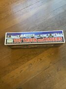 Hess Toy Truck And 2 Racers - 1997 New In Box Never Displayed